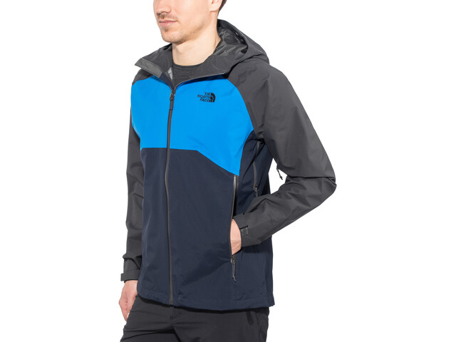 926f314ae The North Face Stratos Jacket Herr asphalt grey/bomber blue/urban navy